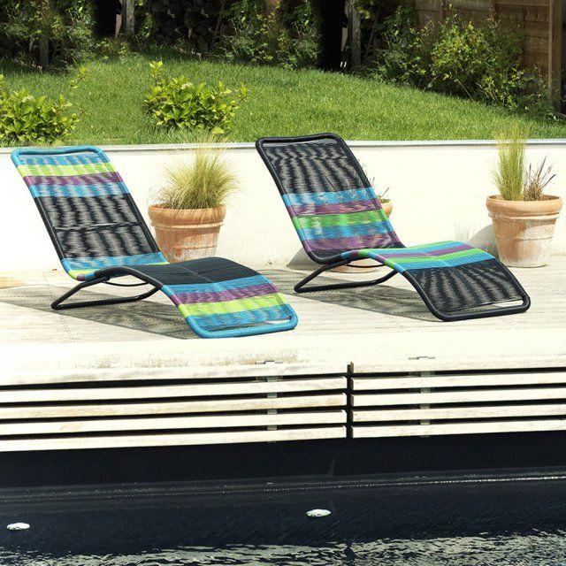 Le fauteuil qu\'il vous faut pour se détendre confortablement à l\'extérieur