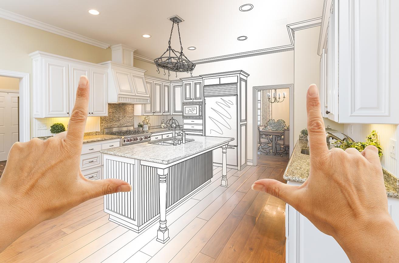 Rénovation de maison cuisine