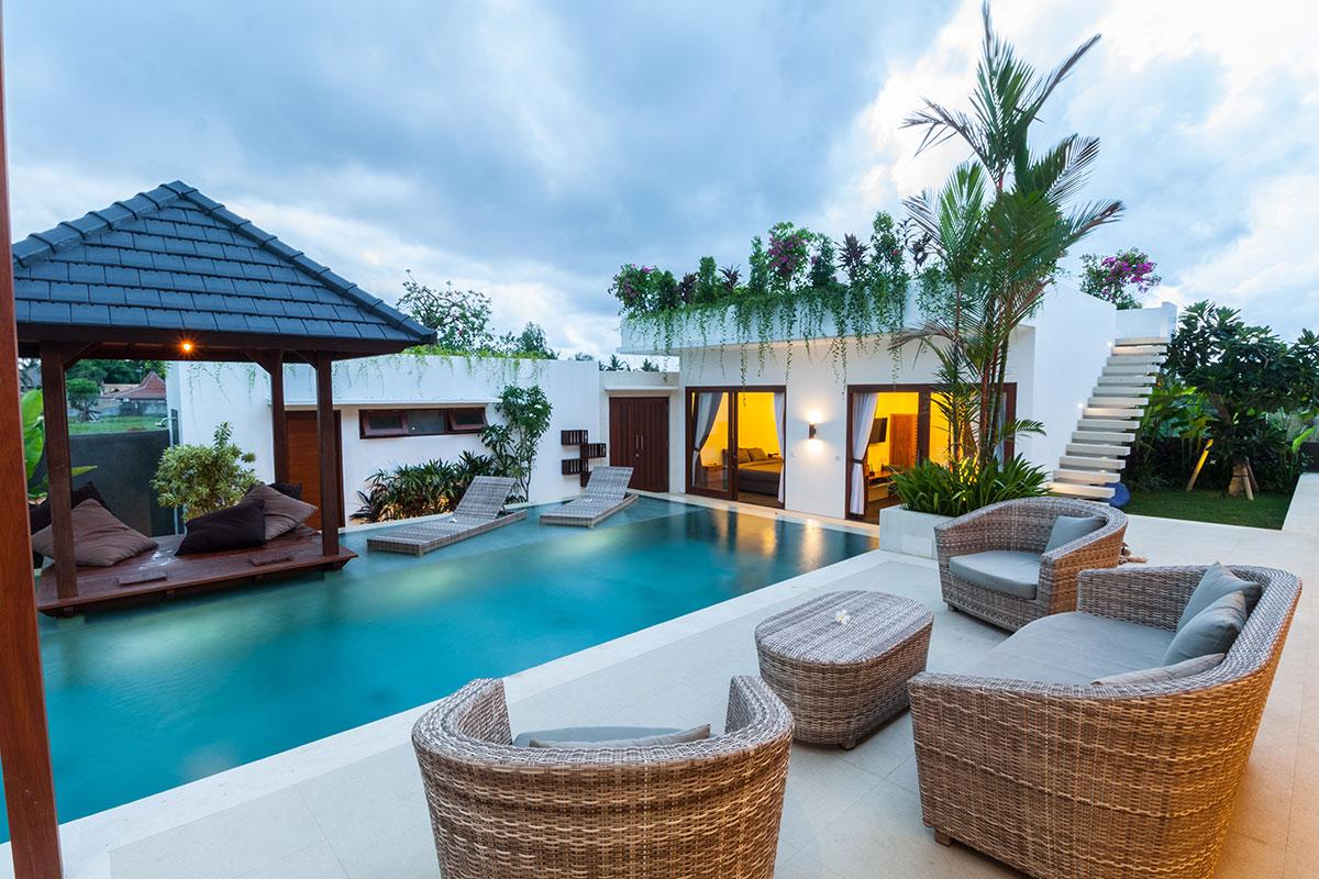 Construction d'une piscine privée