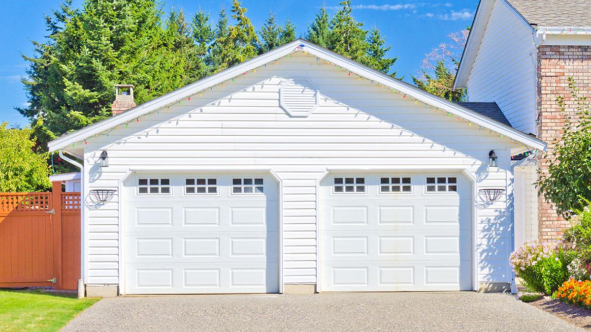 portes de garage en bois